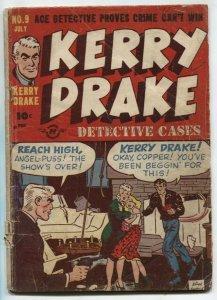 Kerry Drake Detective Cases #9 1948- Captain Tootsie- G