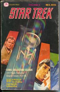 Star Trek #4 1977-Leonard Nimoy-Mr Spock-reprints Gold Key #'s 27-35-G/VG