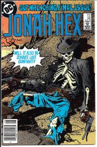 Jonah Hex #92 - Bronze Age - (VF+) Aug., 1985
