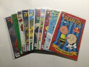 Peanuts 0 1-4 1-22 26,27 29-32 Near Mint Nm Kaboom Schulz