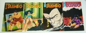Bushido #1-4 VF/NM complete series - ben dunn - eternity comics 1988 set lot 2 3