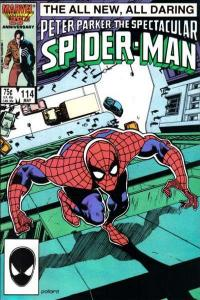 Spectacular Spider-Man (1976 series) #114, NM- (Stock photo)