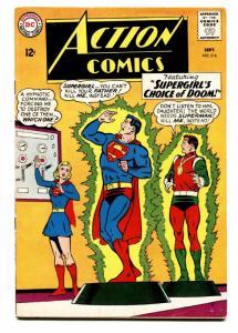ACTION COMICS #316 comic book 1964-Superman-Supergirl cover  FN