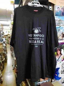 Camiseta de El Jueves color negra. Talla XL