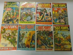 Bronze Age Sgt. Fury lot 46 different from #92-164 avg 5.0 VG FN (1971-81)