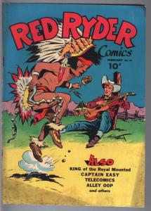 Red Ryder #31--1946--Fred Harman--King of the Royal Mounted--FN minus FN-