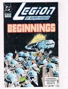 Legion Of Super Heroes #39 VG/FN DC Comics Comic Book Jan 1993 DE39 AD12