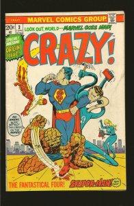 Marvel Comics Crazy Vol 1 No 3 June 1973