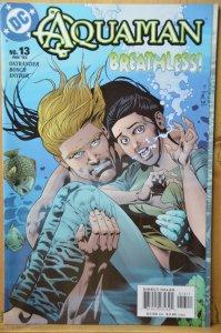 Aquaman #13 (2004) Breathless!!