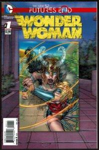 Futures End Wonder Woman 3-D Cover (2014, DC) 9.6 NM+