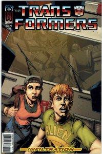 Transformers: Infiltration #1 (2005) Raiz Variant NM