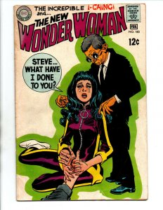 Wonder Woman #180 - Death of Steve Trevor - KEY - 1969 - FN