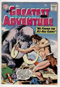 MY GREATEST ADVENTURE 40, VG/VG+, Ice-age Giant, SinisterSafari, Creature, 1960
