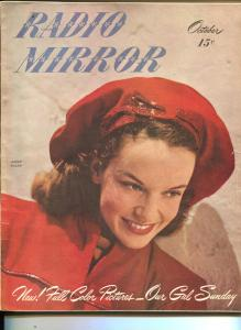 Radio Mirror-Janet Waldo-Gene Autry-Kate Smith-Ted Malone-Oct-1946