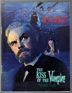 Little Shoppe of Horrors 7/10/1990-double issue-Kiss of The Vampire-Hammer-VF-