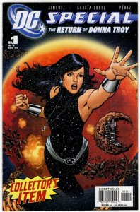 DC SPECIAL The Return Of Donna Troy #1 (VF+) No Resv! 1¢ Auction!