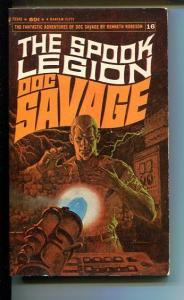 DOC SAVAGE-THE SPOOK LEGION-#16-ROBESON-FN- JAMES BAMA COVER-1ST EDITION FN