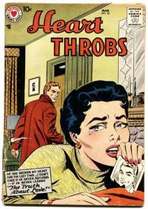HEART THROBS #52 1958 DC-ROMANCE-