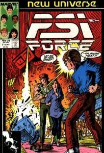 PSI-Force #7, VF- (Stock photo)