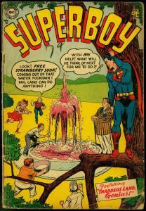 SUPERBOY #37 1954 DC  SUPERMAN   CLARK KENT  - PRISONER VG