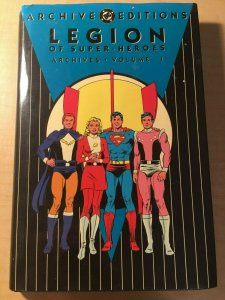 Legion of Super-Heroes Archives Vol. 1 DC Comic Book HARDCOVER Graphic MFT2