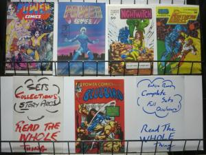 POWER COMICS (1977) 1(1st)2-5 EARLY CANADIAN ANTHOLOGY