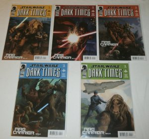 Star Wars: Dark Times -- Fire Carrier #1-5 (complete set)