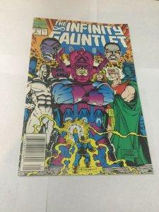 Infinity Gauntlet 5 Fn/Vf Fine/Very Fine 7.0 Newsstand Edition Marvel Comics