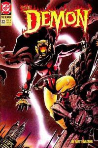 Demon (1990 series) #22, VF (Stock photo)