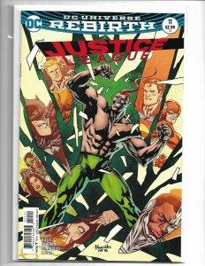 Justice League #11B Paquette Variant NM 2017 (V38)