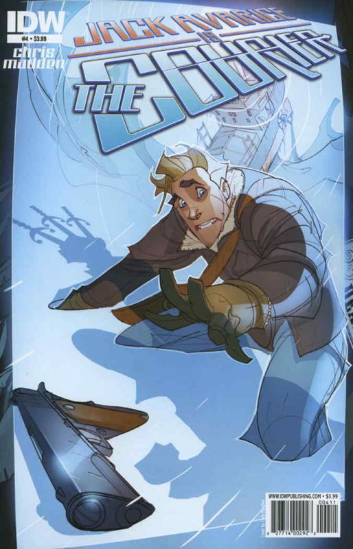 Jack Avarice is the Courier #4 VF/NM; IDW | save on shipping - details inside