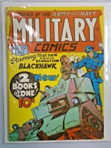 Flashback #05 Military Comics 1 grade 6.0? (1941 1974)
