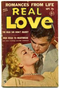 Real Love #50 1952- Ace Golden Age Romance- Photo cover VG
