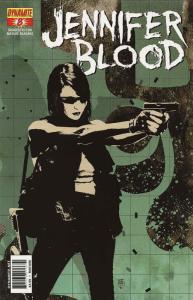 Jennifer Blood (Vol. 1) #8A VF; Dynamite | save on shipping - details inside