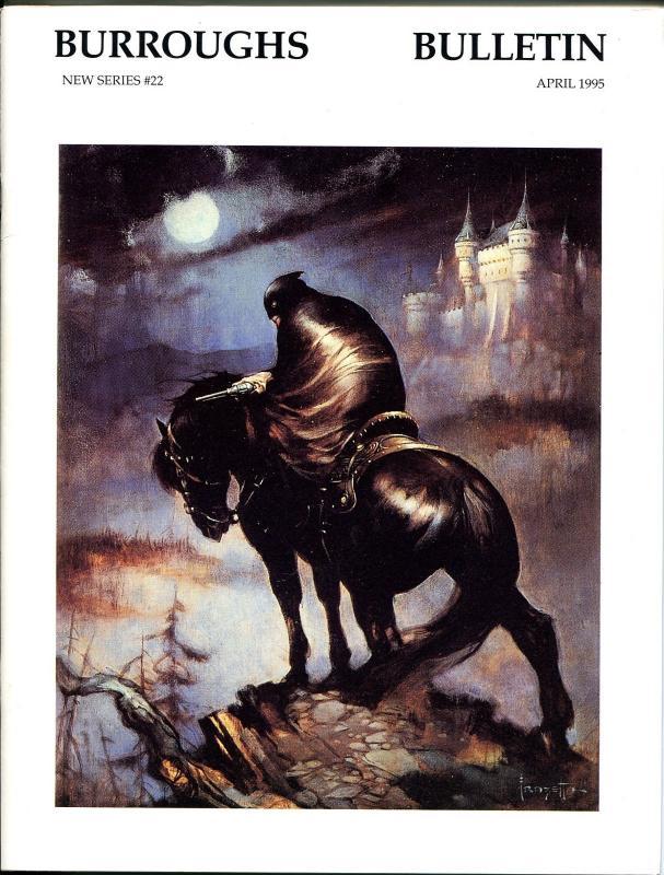 Burroughs Bulletin New Series #22 1995-ERB-Tarzan-Frank Frazetta-George Brehm-VF