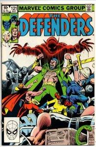 DEFENDERS #121, NM-, Son of Satan HellCat Valkyrie 1972 1983 Marvel