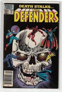 DEFENDERS (1972 MARVEL) #107 VG/FN A15495
