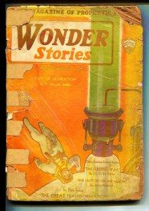 Wonder Stories-Pulps-2/1931-P Schuyler Miller-Ray Cummings