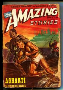 Amazing Stories-Pulps-6/1946-Alexander Blade-Heinrich Hauser