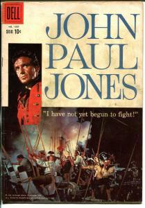 John Paul Jones-Four Color Comics #1007-1959-Dell-Robert Stack-VG