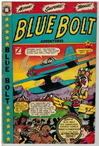 BLUE BOLT (1949-1953 STAR) 103 VG+  Feb 1950 LB COLE COMICS BOOK