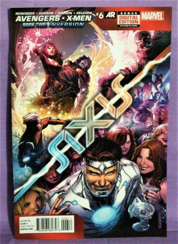Rick Remender AVENGERS & X-MEN AXIS #6 Terry Dodson (Marvel, 2015)!