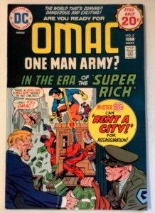 Omac #2 DC 1974 VF Bronze Age Comic Book 1st Print