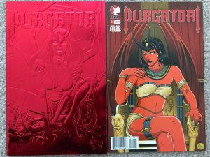 PURGATORI - Two (2) Issue Comic Lot  -  Chaos! and DDP
