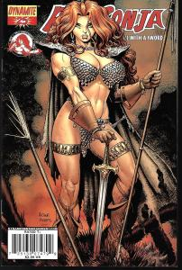 Red Sonja #25 (Dynamite Entertainment)- Art Adams Cover
