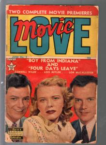 Movie Love #3 1950-Famous Funnies-Cornell Wilde-G