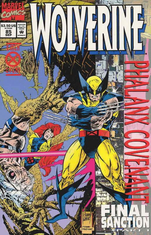 Wolverine #85SC VF/NM; Marvel   save on shipping - details inside