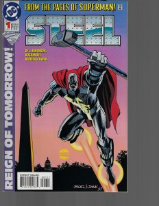 Steel #1 (DC, 1994) NM