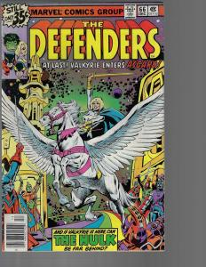 Defenders #66 (Marvel, 1978)