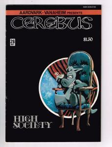 Cerebus The Aardvark # 26 VF Aardvark-Vanaheim Comic Book Dave Sim S10